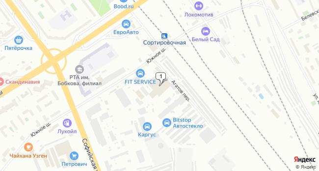 Арендовать склад 818 м<sup>2</sup> в Санкт-Петербурге по адресу Россия, Санкт-Петербург, Южное шоссе, 37