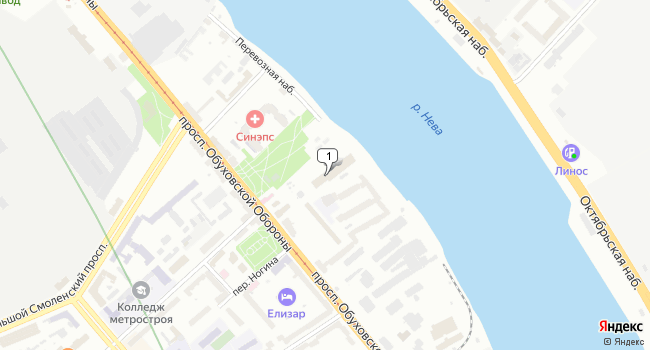 Арендовать офис 301 м<sup>2</sup> в Санкт-Петербурге по адресу Россия, Санкт-Петербург, проспект Обуховской Обороны, 70к3