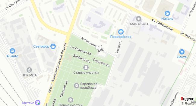 Арендовать склад 6380 м<sup>2</sup> в посёлке Репино по адресу Россия, Санкт-Петербург, Невский район, Тихая улица, 19