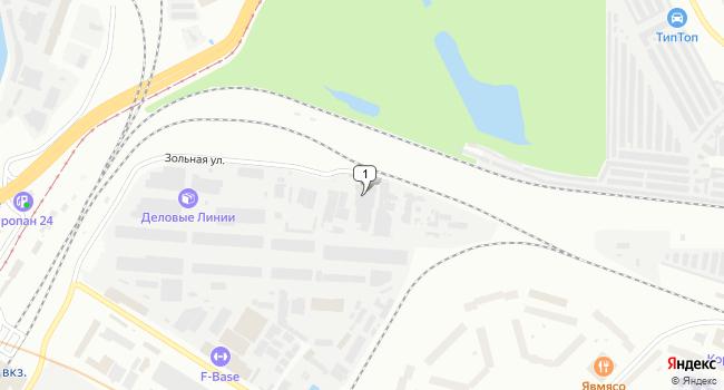 Арендовать склад 1600 м<sup>2</sup> в Санкт-Петербурге по адресу Россия, Санкт-Петербург, улица Латышских Стрелков, 29к4