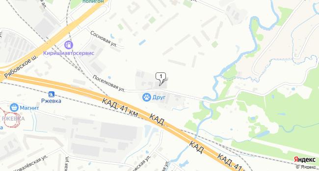 Арендовать склад 615 м<sup>2</sup> в посёлке Шушары по адресу Россия, Санкт-Петербург, Красногвардейский район, Поселковая улица, 18