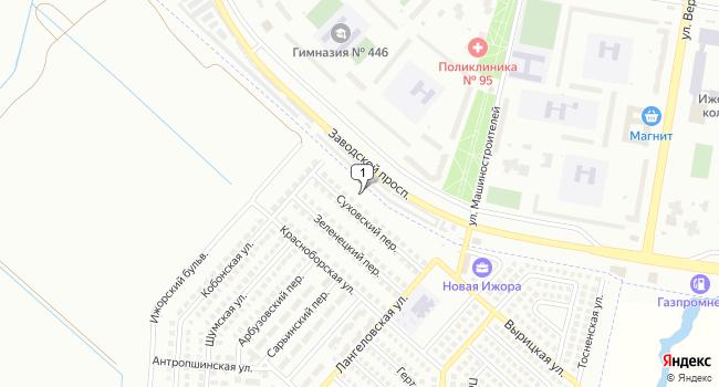 Арендовать торговую площадь 390 м<sup>2</sup> в посёлке Шушары по адресу Россия, Санкт-Петербург, Пушкинский район, поселок Шушары, Онежская улица