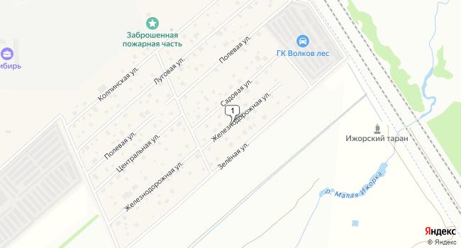 Арендовать коммерческую недвижимость 117 м<sup>2</sup> в Тосно по адресу Россия, Ленинградская область, Тосненский район, поселок Тельмана, Железнодорожная улица