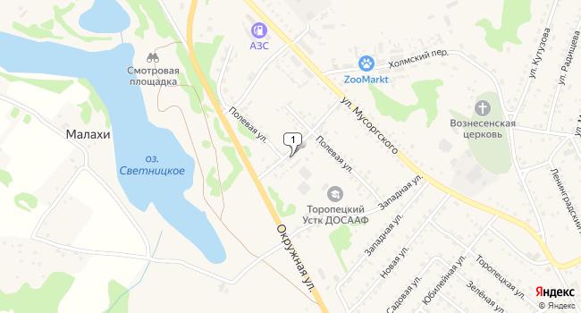 Купить коммерческую недвижимость 1630 м<sup>2</sup> в Торопеце по адресу Россия, Тверская область, Торопец, Полевая улица, 26А