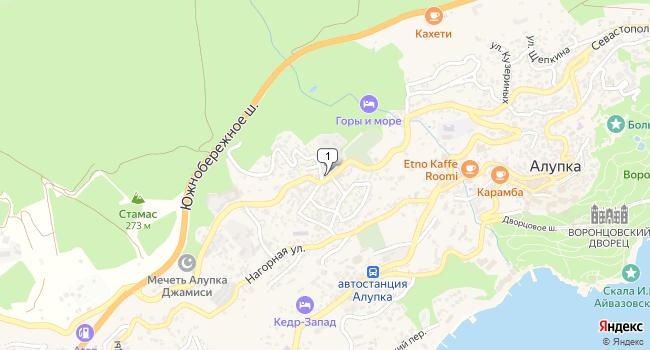 Купить производственное помещение 3476 м<sup>2</sup> в Алупке по адресу Россия, Республика Крым, городской округ Ялта, Алупка, Севастопольское шоссе, 66