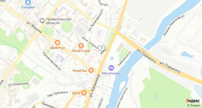 Арендовать офис 18 м<sup>2</sup> в Брянске по адресу Россия, Брянск, улица Калинина, 99А