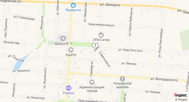 Купить земельный участок 150000 м<sup>2</sup> в Жиздре по адресу Россия, Калужская область, Жиздра