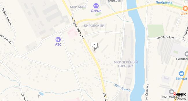 Арендовать коммерческую недвижимость 647 м<sup>2</sup> в Торжке по адресу Россия, Тверская область, Торжок, улица Луначарского, 116