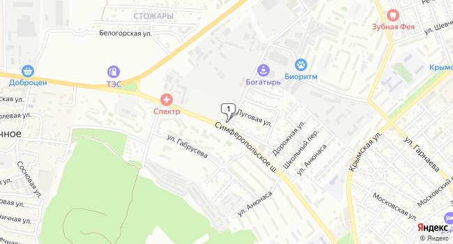 Арендовать склад 146 м<sup>2</sup> в Феодосии по адресу Россия, Республика Крым, Феодосия, Симферопольское шоссе, 46А