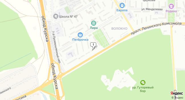Арендовать торговую площадь 560 м<sup>2</sup> в Курске по адресу Россия, Курск, проспект Ленинского Комсомола, 101