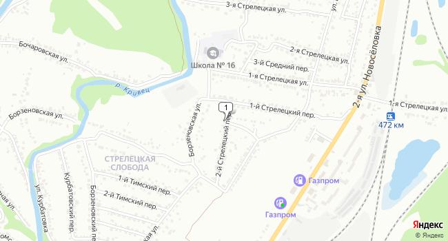 Арендовать торговую площадь 160 м<sup>2</sup> в Курске по адресу Россия, Курск, 2-й Стрелецкий переулок, 7