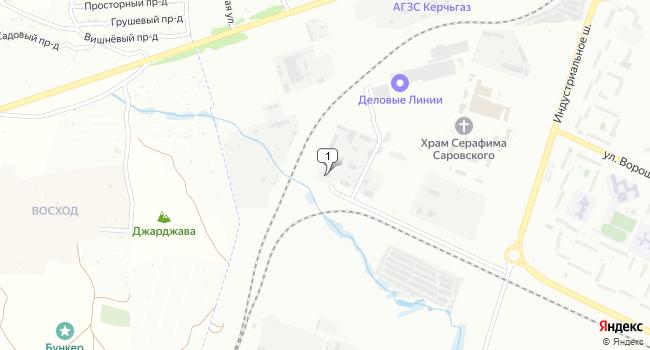 Арендовать склад 600 м<sup>2</sup> в Керчи по адресу Россия, Республика Крым, Керчь, Индустриальное шоссе, 6