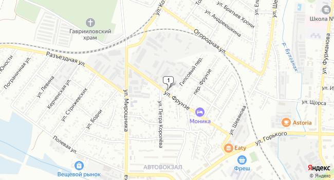Арендовать склад 140 м<sup>2</sup> в Керчи по адресу Россия, Республика Крым, Керчь, улица Фрунзе, 60