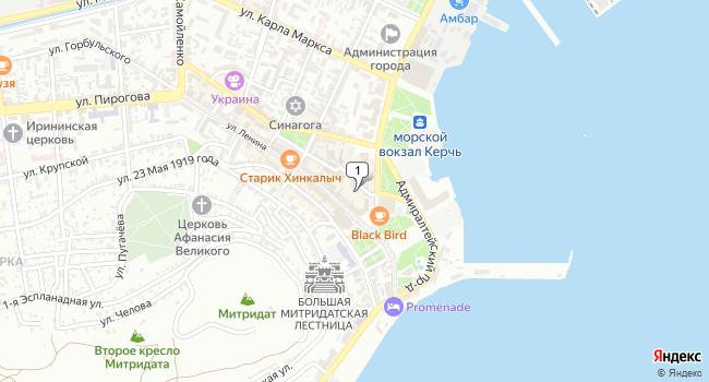 Арендовать офис 63 м<sup>2</sup> в Керчи по адресу Россия, Республика Крым, Керчь, Кооперативный переулок, 32