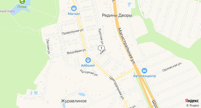 Купить земельный участок 800 м<sup>2</sup> в Строителе по адресу Россия, Белгородская область, Яковлевский район, Строитель, Дорожный переулок