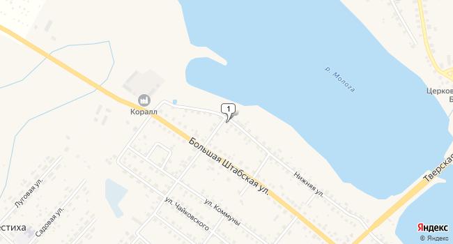 Купить офис 464 м<sup>2</sup> в Бежецке по адресу Россия, Тверская область, Бежецк, Нижняя улица, 14/1