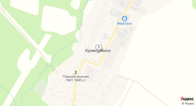 Купить коммерческую недвижимость 1574 м<sup>2</sup> в Жукове по адресу Россия, Калужская область, Жуковский район, деревня Кривошеино