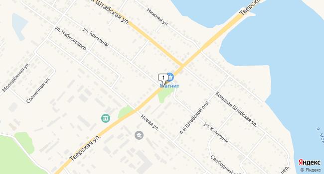 Арендовать отдельное здание 4725 м<sup>2</sup> в Бежецке по адресу Россия, Тверская область, Бежецк, Тверская улица