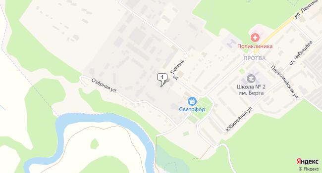 Купить торговую площадь 2488 м<sup>2</sup> в Жукове по адресу Россия, Калужская область, Жуков, улица Ленина, 4с1
