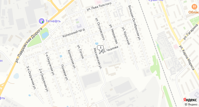 Арендовать офис 35 м<sup>2</sup> в Клину по адресу Россия, Московская область, Клин, Московская улица, 31