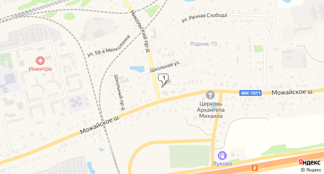 Арендовать офис 200 м<sup>2</sup> в Кубинке по адресу Россия, Московская область, Одинцовский район, Кубинка, Можайское шоссе, 110