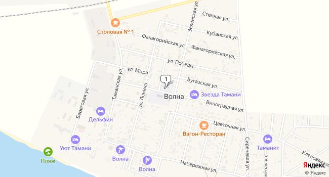 Купить земельный участок 18700 м<sup>2</sup> в Темрюке по адресу Россия, Краснодарский край, Темрюкский район, поселок Волна