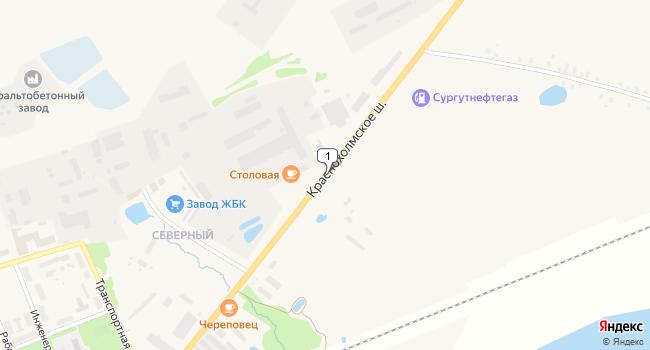 Купить торговую площадь 6500 м<sup>2</sup> в Бежецке по адресу Россия, Тверская область, Бежецк, Краснохолмское шоссе