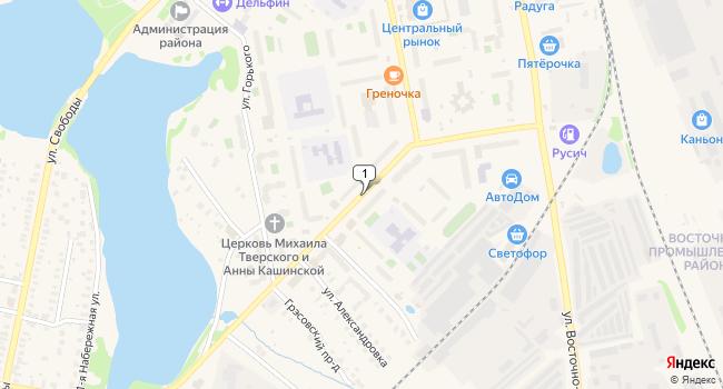 Арендовать склад 61 м<sup>2</sup> в Конаково по адресу Россия, Тверская область, Конаково, улица Баскакова