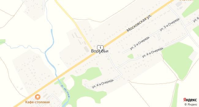 Купить земельный участок 15000 м<sup>2</sup> в Жукове по адресу Россия, Калужская область, Жуковский район, деревня Воробьи