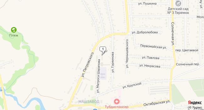 Купить склад 8500 м<sup>2</sup> в Шебекино по адресу Россия, Белгородская область, Шебекино, улица Матроса Шарапова, 11