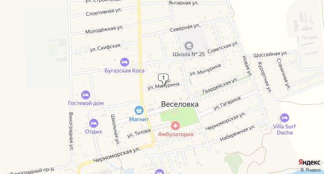 Купить земельный участок 93500 м<sup>2</sup> в Темрюке по адресу Россия, Краснодарский край, Темрюкский район, поселок Веселовка