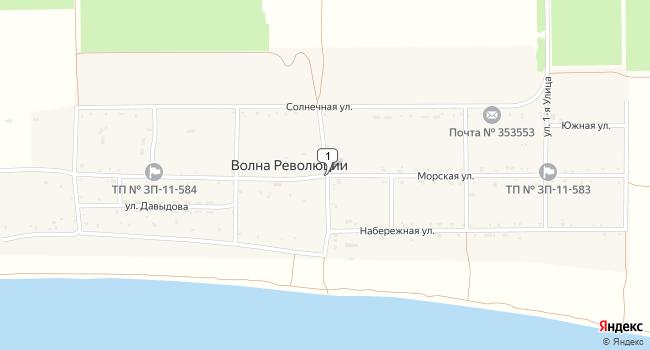 Купить земельный участок 37400 м<sup>2</sup> в Темрюке по адресу Россия, Краснодарский край, Темрюкский район, поселок Волна Революции