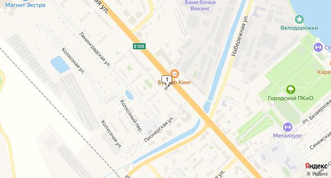 Арендовать офис 24 м<sup>2</sup> в Солнечногорске по адресу Россия, Московская область, Солнечногорск, Красная улица, 117А