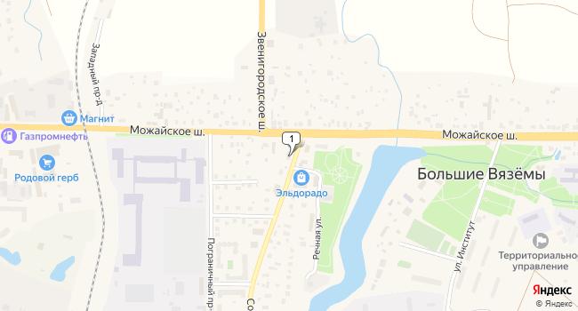 Арендовать склад 500 м<sup>2</sup> в Голицыно по адресу Россия, Московская область, Одинцовский район, Голицыно, Можайское шоссе, 31