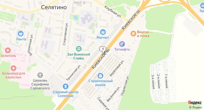 Арендовать производственное помещение 1128 м<sup>2</sup> в посёлке ского типа Селятино по адресу Россия, Московская область, Наро-Фоминский район, поселок городского типа Селятино, Киевское шоссе