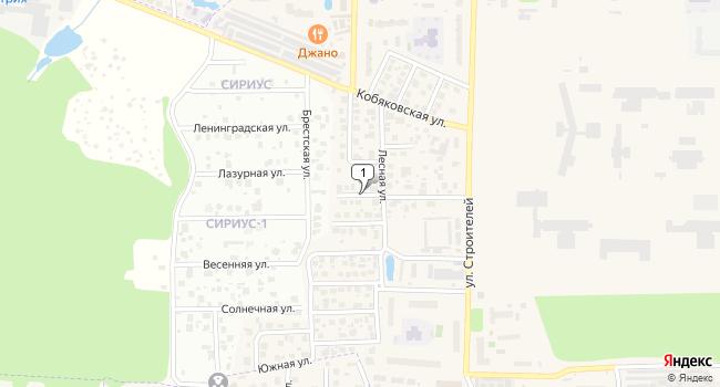 Арендовать торговую площадь 3500 м<sup>2</sup> в Краснознаменске по адресу Россия, Московская область, Краснознаменск, Берёзовая улица
