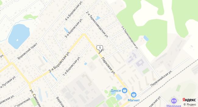 Арендовать офис 11 м<sup>2</sup> в Апрелевке по адресу Россия, Московская область, Наро-Фоминский район, Апрелевка, Парковая улица