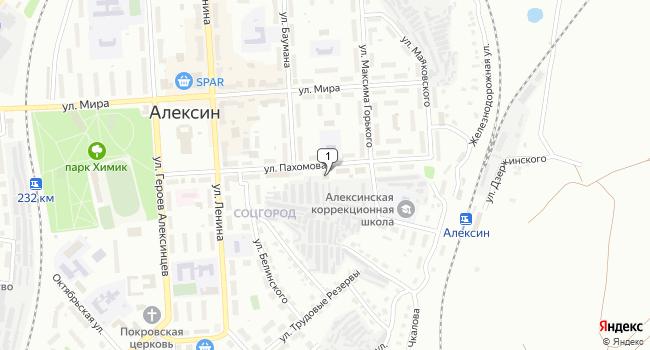 Арендовать торговую площадь 400 м<sup>2</sup> в Алексине по адресу Россия, Тульская область, Алексин, улица Пахомова, 11А