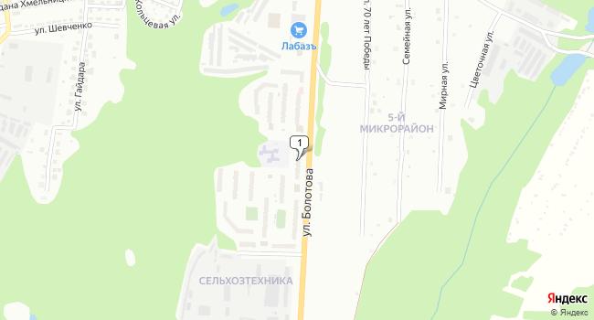 Арендовать торговую площадь 290 м<sup>2</sup> в Алексине по адресу Россия, Тульская область, Алексин, улица Болотова, 10
