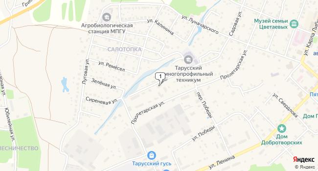 Арендовать коммерческую недвижимость 2400 м<sup>2</sup> в Тарусе по адресу Россия, Калужская область, Таруса, Садовая улица, 61А
