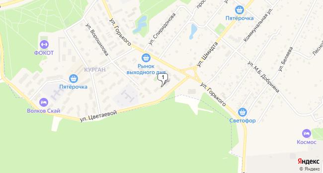 Арендовать коммерческую недвижимость 32 м<sup>2</sup> в Тарусе по адресу Россия, Калужская область, Таруса, улица Марины Цветаевой, 1