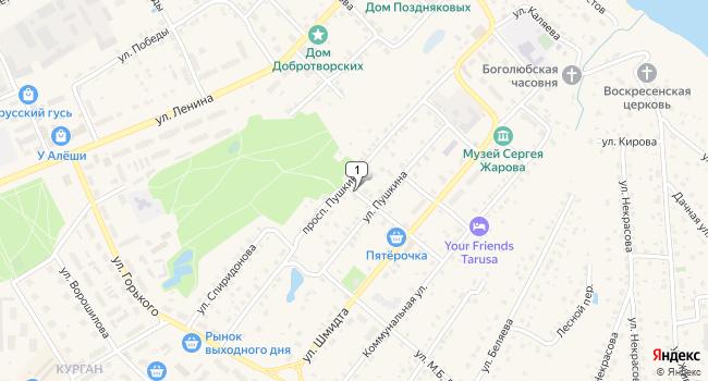Купить производственное помещение 2000 м<sup>2</sup> в Тарусе по адресу Россия, Калужская область, Таруса, проспект Пушкина