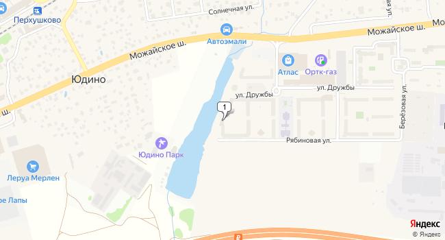 Арендовать торговую площадь 385 м<sup>2</sup> в посёлке ВНИИССОК по адресу Россия, Московская область, Одинцовский район, поселок ВНИИССОК, Рябиновая улица, 11