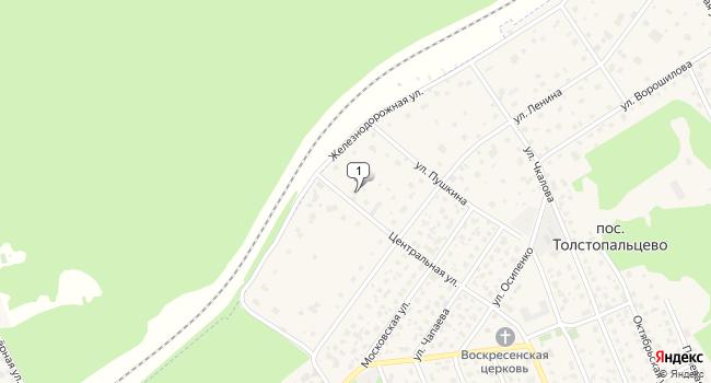 Арендовать торговую площадь 590 м<sup>2</sup> в посёлке Толстопальцево по адресу Россия, Москва, поселок Толстопальцево, Железнодорожная улица, 14С
