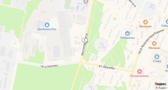 Купить склад 291 м<sup>2</sup> в Протвино по адресу Россия, Московская область, Протвино, Институтское шоссе