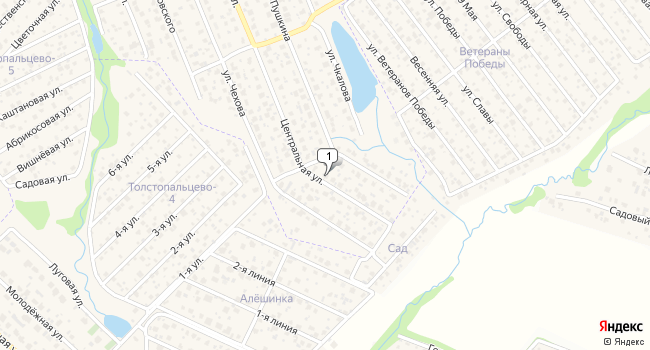 Купить офис 2200 м<sup>2</sup> в посёлке Толстопальцево по адресу Россия, Москва, поселок Толстопальцево, Центральная улица, 53