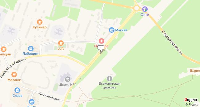 Купить офис 180 м<sup>2</sup> в Протвино по адресу Россия, Московская область, Протвино, проспект Академика Сахарова