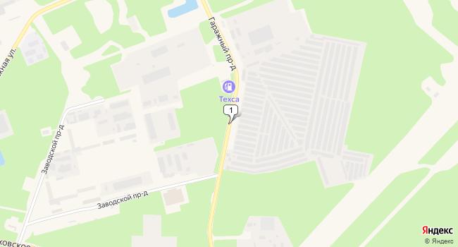 Арендовать склад 270 м<sup>2</sup> в Протвино по адресу Россия, Московская область, Протвино, Гаражный проезд