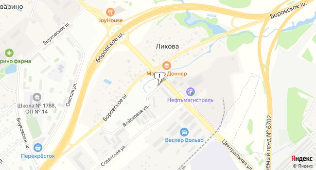 Арендовать офис 245 м<sup>2</sup> в посёлке Внуково по адресу Россия, Москва, поселок Внуково, Центральная улица, 20