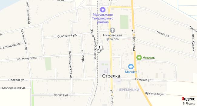 Купить земельный участок 18700 м<sup>2</sup> в Темрюке по адресу Россия, Краснодарский край, Темрюкский район, поселок Стрелка